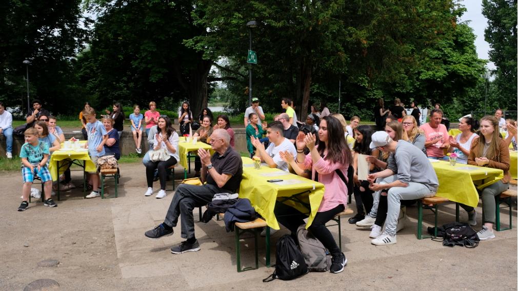Sommerfest für Einsteigen – Aufsteigen!