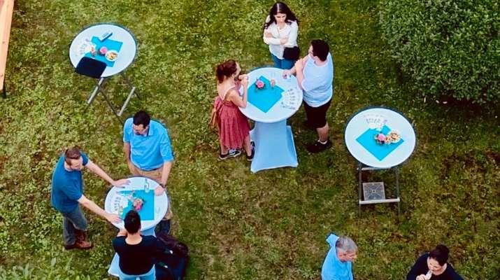 Gartenfest für Ehrenamtliche